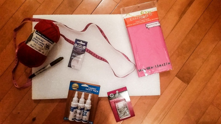 supplies-for-heart-project